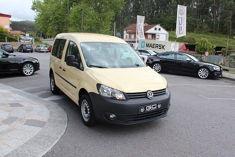 VOLKSWAGEN Caddy 2.0 TDI 4MO 110CV Comfortline Edition lleno