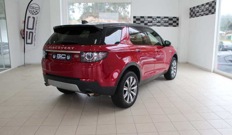 LAND-ROVER Discovery Sport 2.0L TD4 132kW 180CV 4×4 HSE Luxury lleno